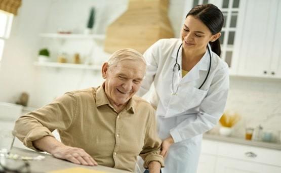 senior citizen medical assistant