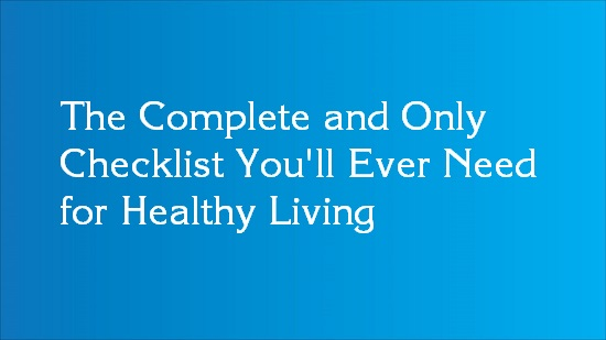 ultimate healthy living guide