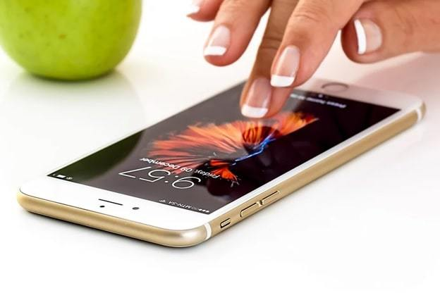 cell phone touch screen