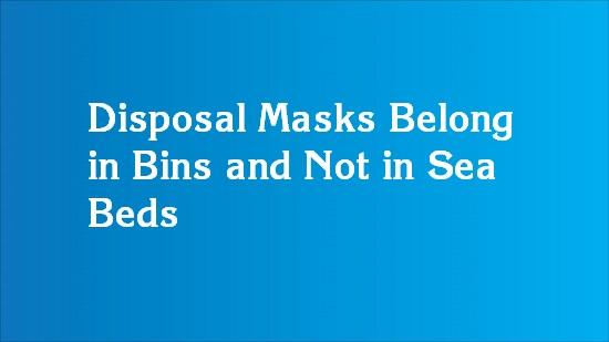improper disposal of mask