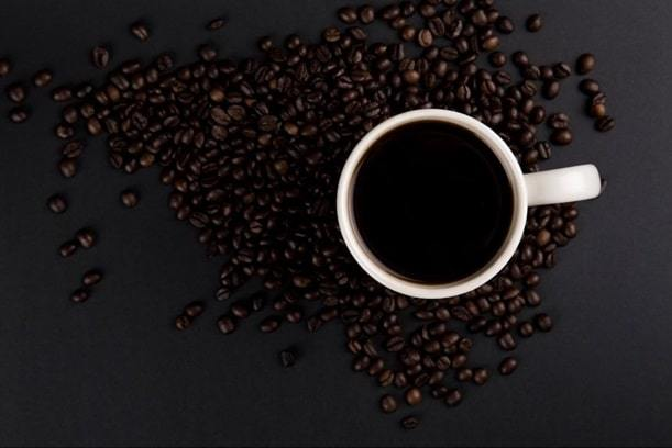 a cup of columbian coffee