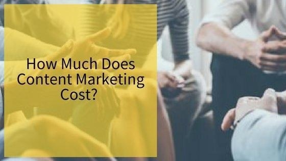 content marketing cost