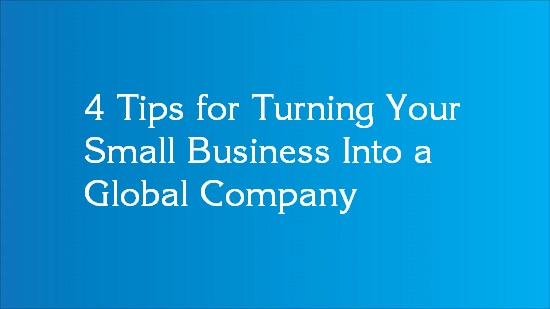 tips for going global